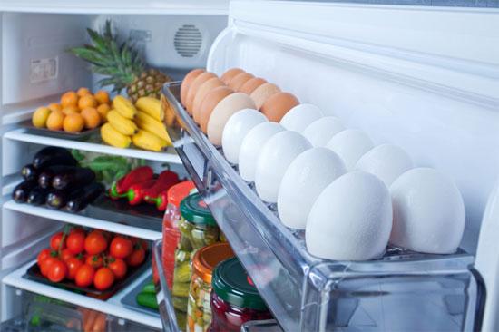 lưu ý khi bảo quản trứng trong tủ lạnh