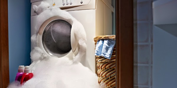 máy giặt elecrolux bị trào bọt